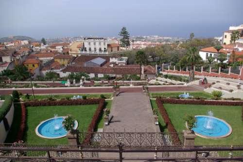 Jardines Marquesado de la Quinta Roja in La Orotava, Spain free photo