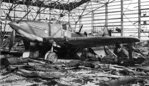 Abandoned Soviet-made North Korean Ilyushin Il-10 attack aircraft during the Korean War free photo