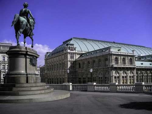 Albertina Terrace in the Innere Stadt in Vienna, Austria free photo