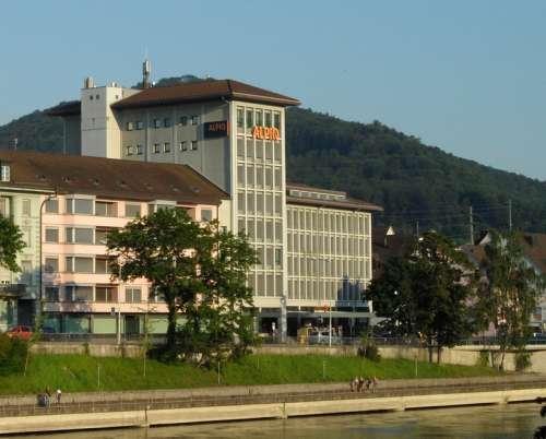 Alpiq building in Olten, Switzerland free photo