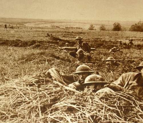 American Troops in World War I free photo