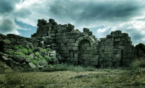 Ancient Ruins in Turkey free photo