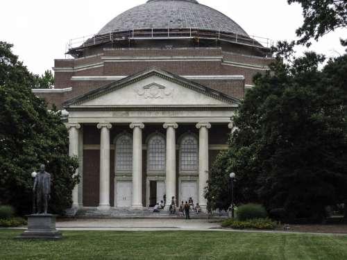 Baldwin Auditorium at Duke University, North Carolina free photo