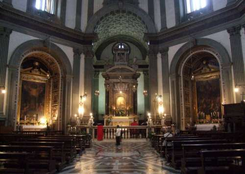 Basilica of Our Lady of Humility in Pistoia, Italy free photo