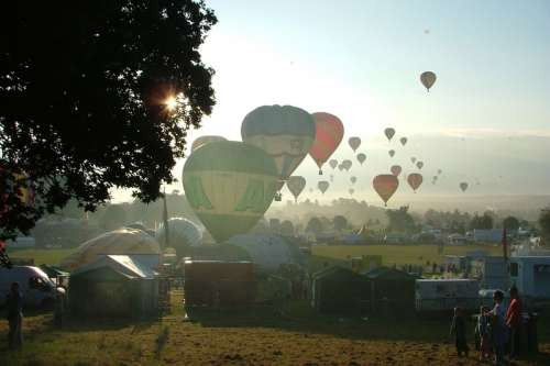 Bristol International Balloon Fiesta, England free photo