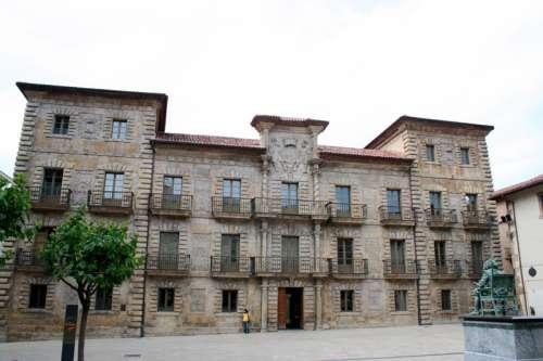 Camposagrado Palace in Aviles, Spain free photo