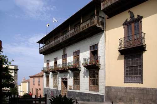 Casa de los Balcones in La Orotava, Spain free photo