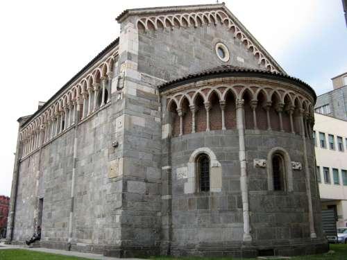 Church of San Pietro in Gallarate, Italy free photo