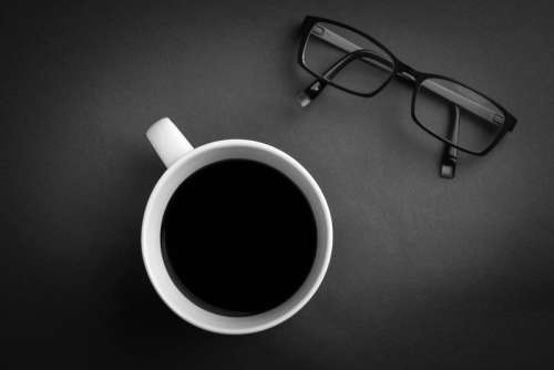 Coffee Cup and Glasses free photo