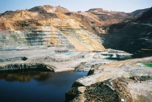 Copper mine in Cyprus free photo