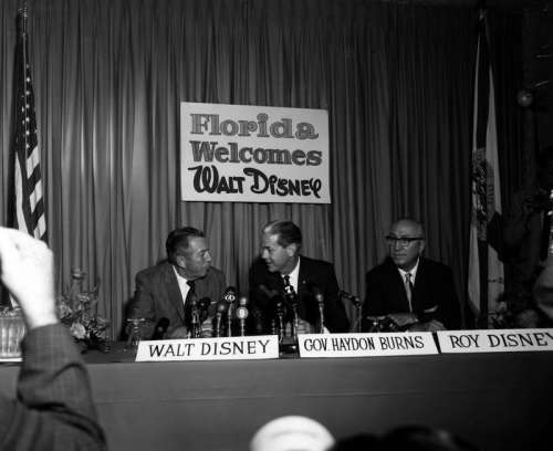 Creation of Disney World in 1965 in Orlando, Florida free photo