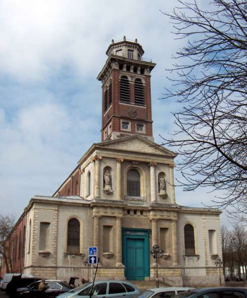 Deconsecrated Church Notre-Dame in Roubaix, France free photo