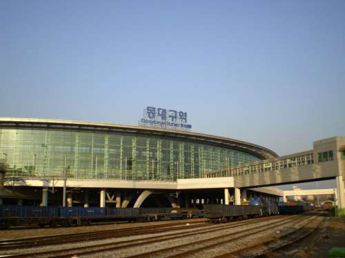 Dongdaegu Station in Daegu, South Korea free photo