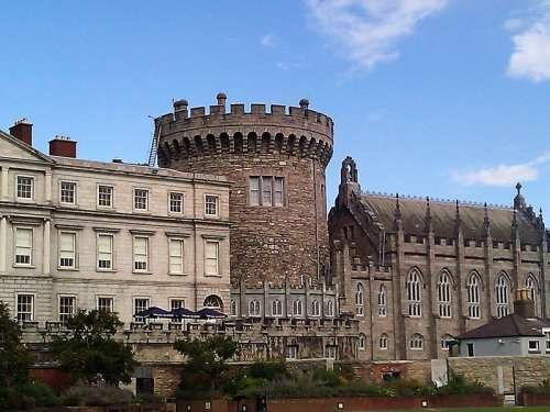 Dublin Castle in Ireland free photo