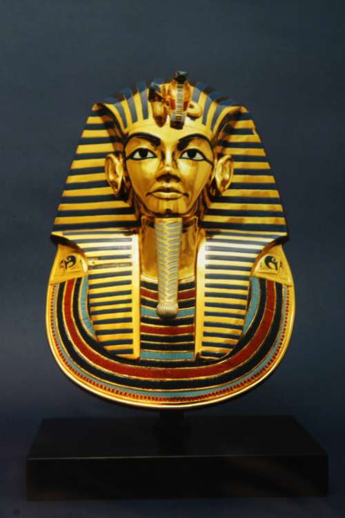 Egyptian Mask after death for Pharaohs  free photo