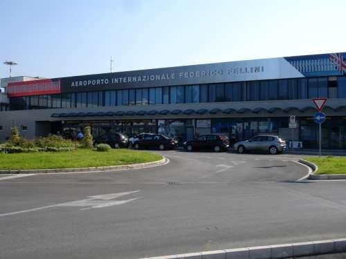 Federico Fellini International Airport in Rimini, Italy free photo