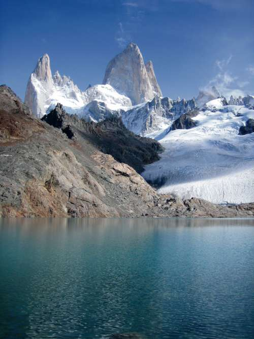 Fitz Roy Mount in Chile free photo