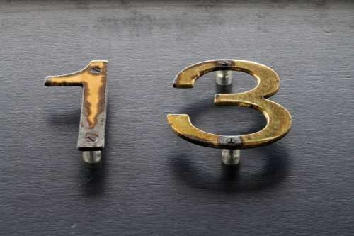 Golden Number 13, Thirteen free photo