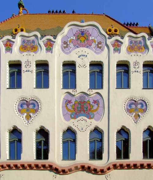 Hungarian Art Nouveau: Cifrapalota in Kecskemét free photo