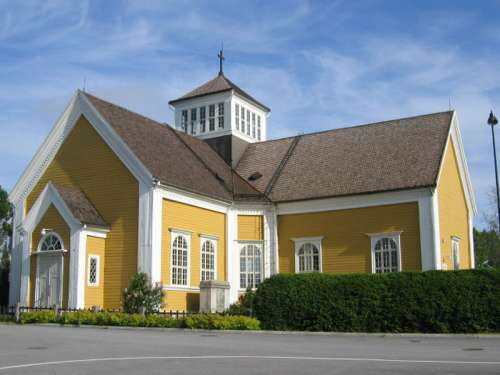 Ikaalinen Church building in Finland free photo