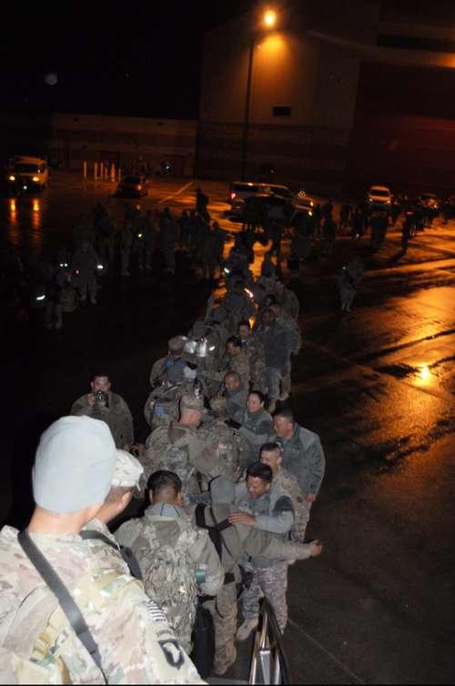 Infantry regiment in Gulfport, Mississippi free photo