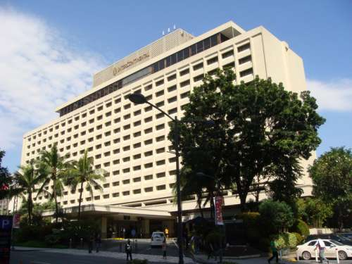 Intercontinental Manila Hotel in the Philippines free photo