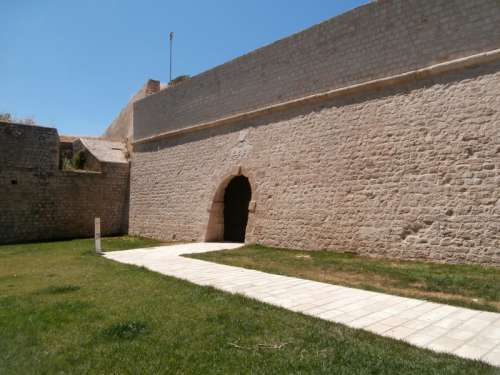 Jesus Gate, part of the Fortifications of Heraklion, Greece free photo