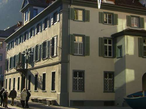Kantonsgerichtsgebäude in Chur, Switzerland free photo