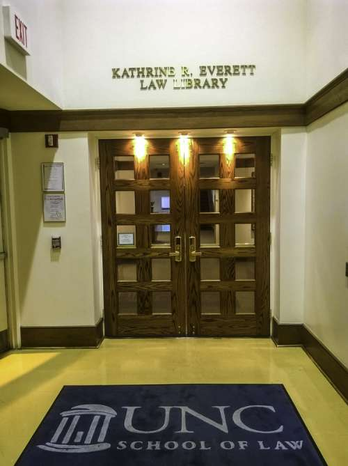 Kathrine R. Everett Law Library at UNC, Chapel Hill, North Carolina free photo
