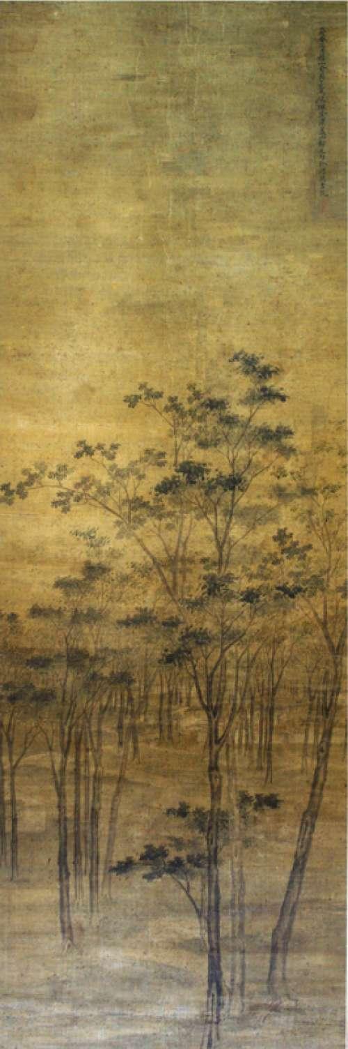 Landscape Art of Wuxi in 1658 in Jiangsu, China free photo