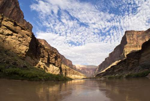 Landscape of the Grand Canyon and Colorado River, Arizona free photo