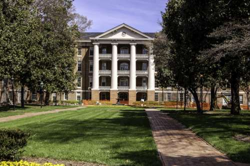 Main Campus of William Peace University in Raleigh, North Carolina free photo