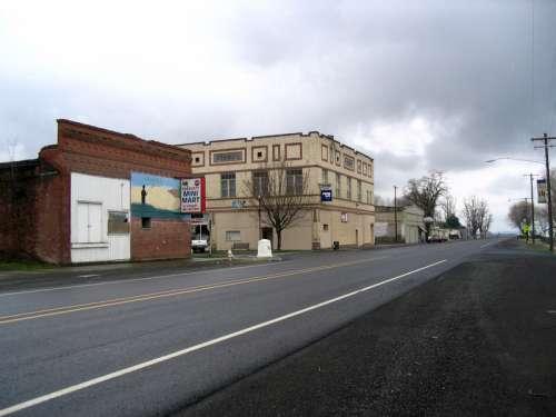 Main intersection in Prescott, Washington free photo