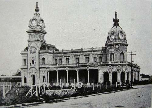 Mar del Plata Sud railway station in Argentina free photo