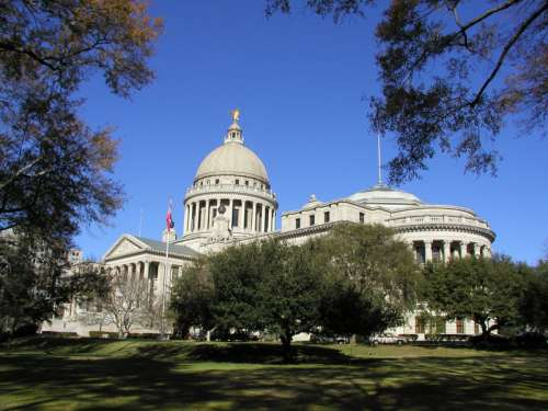 Mississippi State Capital in Jackson free photo