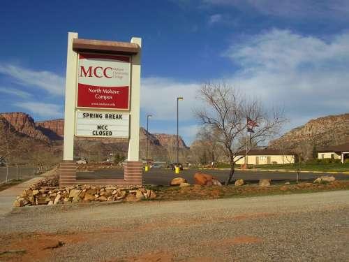 Mohave Community College North Mohave Campus in Colorado City, Arizona free photo