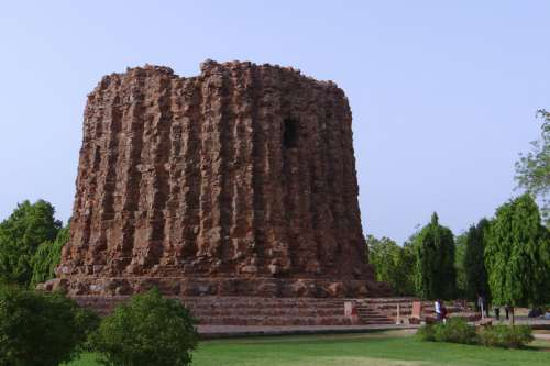 Monument in Delhi, India free photo