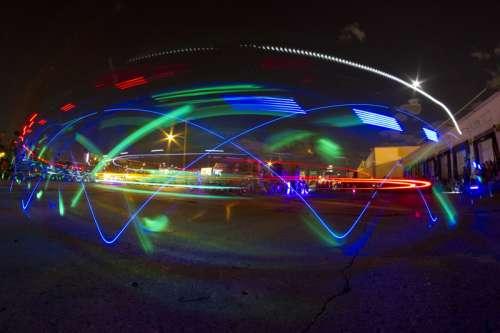 Neon Light Displays in Denver, Colorado free photo