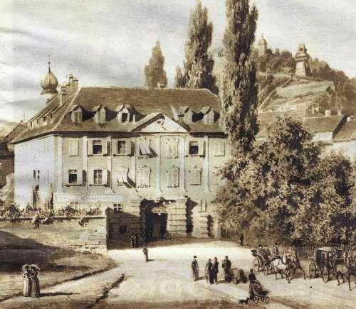 Neutor in 1883 in Graz, Austria free photo