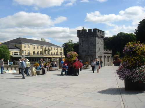New Canal Square in Kilkenny, Ireland free photo
