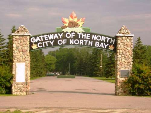 North Bay is the gateway to Northern Ontario, Canada free photo