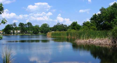 North Triplet Lake in Casselberry, Florida free photo