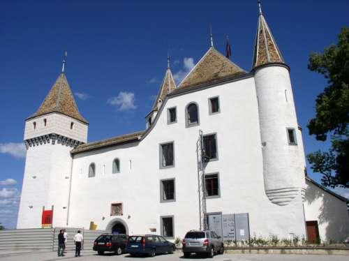 Nyon Castle in Switzerland free photo