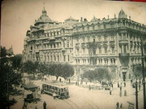 Odessa city in the 1900s in Ukraine free photo
