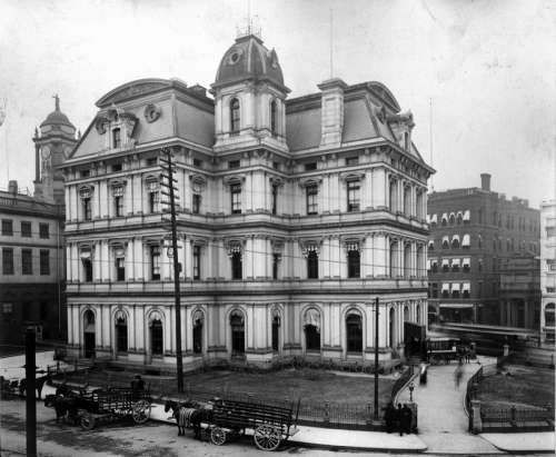 Old Post Office in Hartford, Connecticut free photo