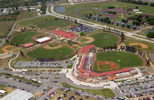 Osceola County Stadium in Kissimmee, Florida free photo