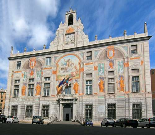 Palace of Saint George in Genoa, Italy free photo