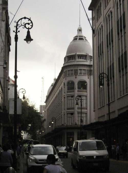 Palacio de Hierro store in Mexico City, Mexico free photo