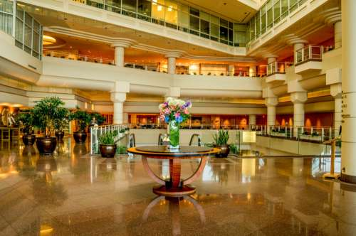 Pan Pacific Hotel Lobby in Vancouver, British Columbia, Canada free photo