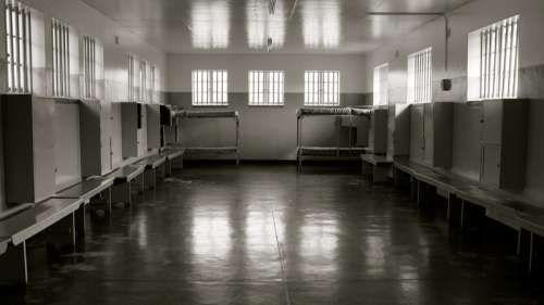 Prison on Robben Island in Cape Town, South Africa free photo